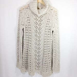 Anthropologie Knit Sweater Tunic S